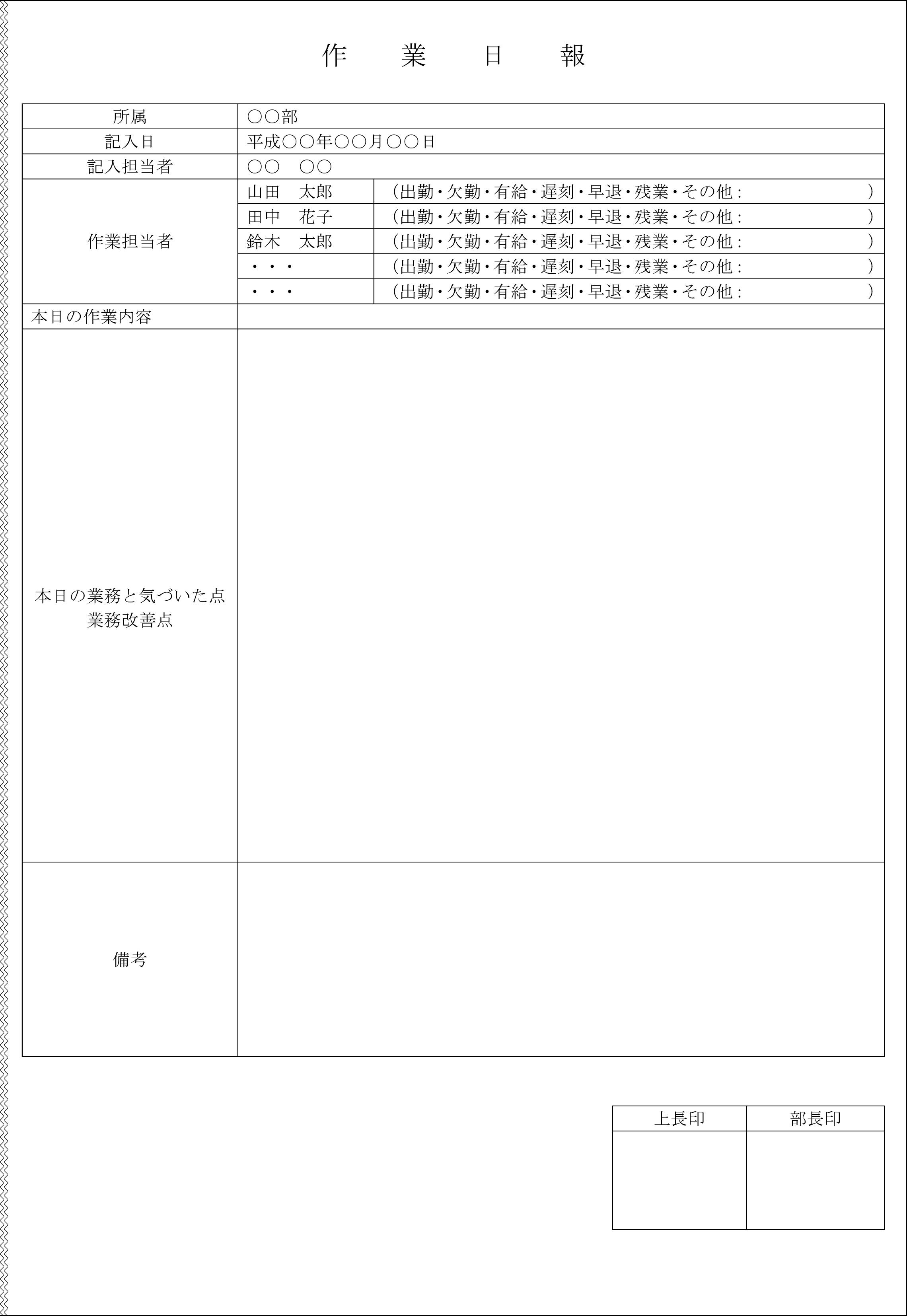 作業日報03
