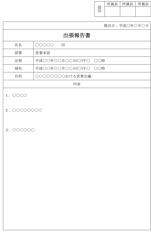 出張報告書02