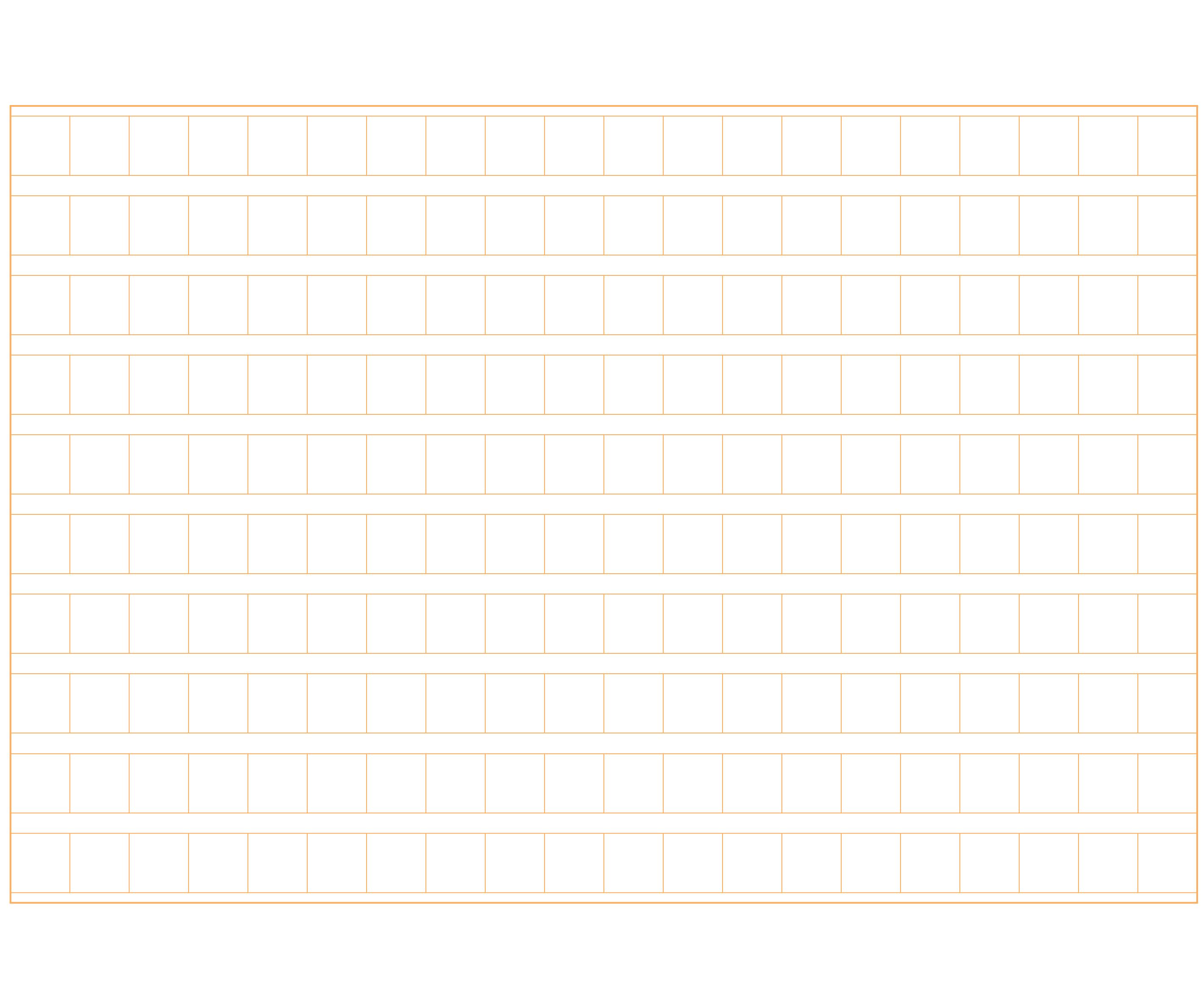 原稿用紙(200字横書きA4横)