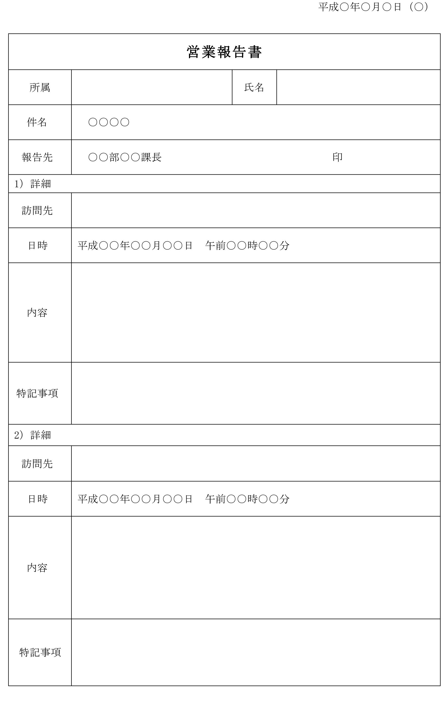 営業報告書03
