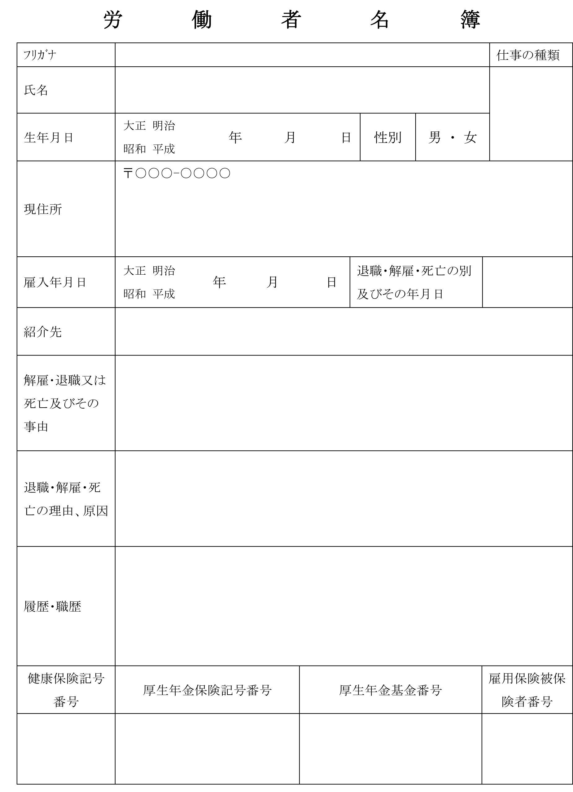 労働者名簿08