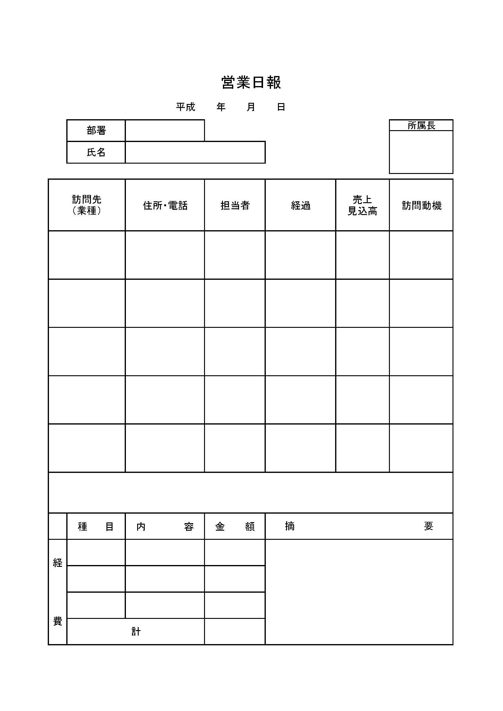 営業日報09