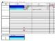 プロジェクトスケジュール表
