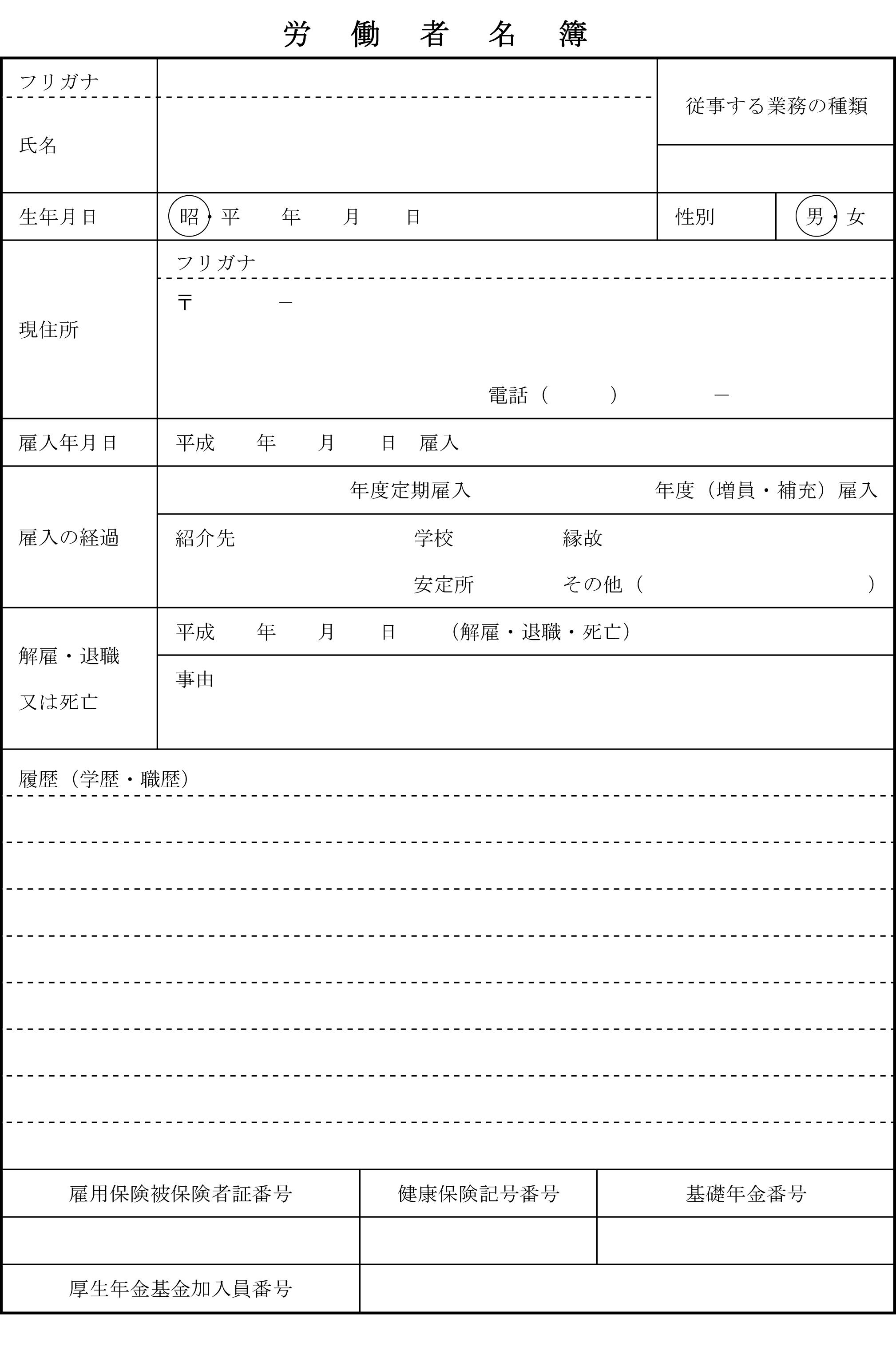 労働者名簿05
