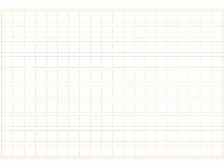 原稿用紙(200字横書きA4横)のテンプレート書式