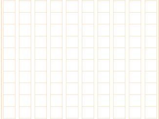 原稿用紙(200字縦書きB5縦)のテンプレート書式