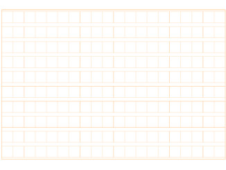 原稿用紙(200字横書きB5横)のテンプレート書式