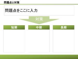 会員登録不要で無料でダウンロードできる問題点と対策14のテンプレート書式
