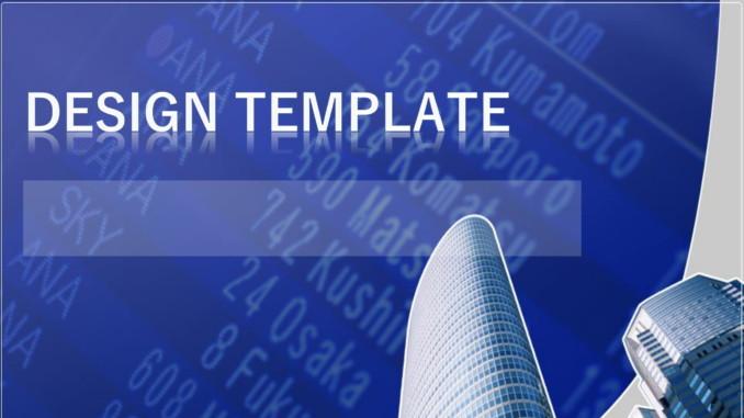 会員登録不要で無料でダウンロードできるデザインテンプレート07のテンプレート書式
