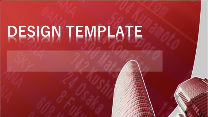 会員登録不要で無料でダウンロードできるデザインテンプレート08のテンプレート書式