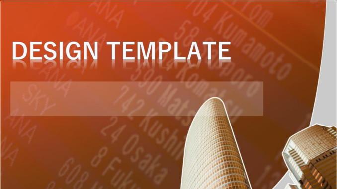 会員登録不要で無料でダウンロードできるデザインテンプレート09のテンプレート書式